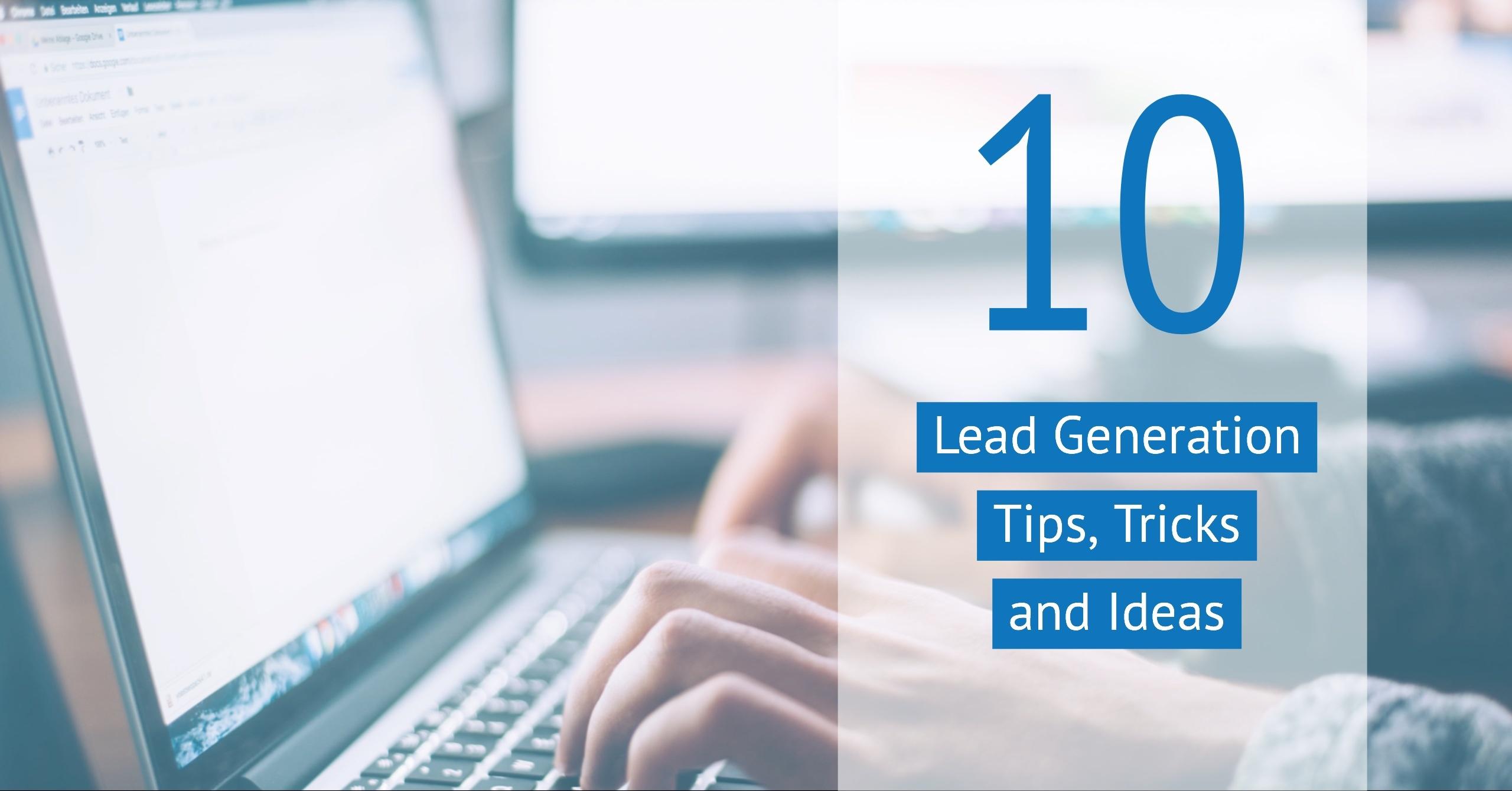 30 Lead Gen